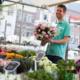 Vvv Warenmarkt Bloemenverkoper
