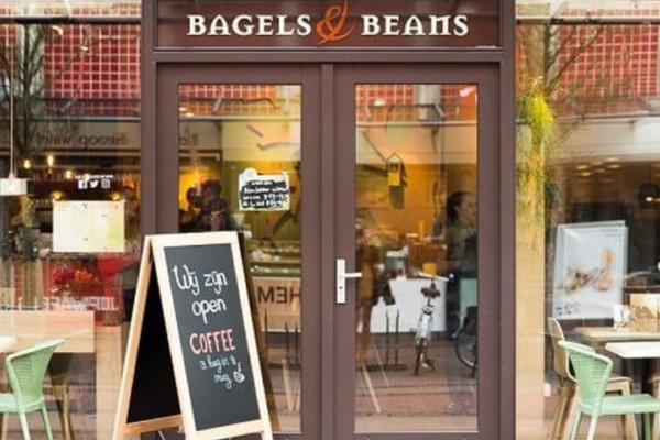 Foto 2 Bagels Beans Gouda