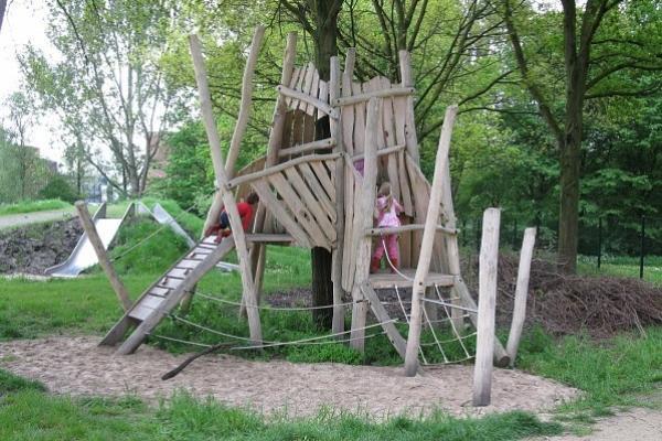 Natuurspeelplek Groenhovenpark Gouda