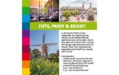 Gouda Ticket Fiets Proef Beleef 540X340