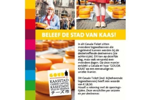 Gouda Ticket Beleef De Stad Van Kaas 540X340