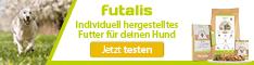 futalis® - individuelle Tiernahrung von Tierärzten entwickelt.