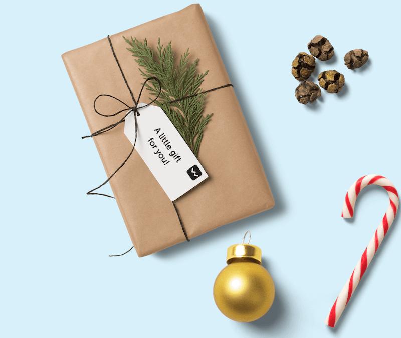 Weihnachtsgeschenke mit Logo