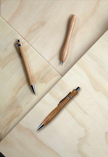 Ansicht 2 von Kugelschreiber 'Montana' aus Bambus