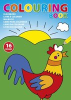 Kinder Malbuch 'Leni' aus Papier