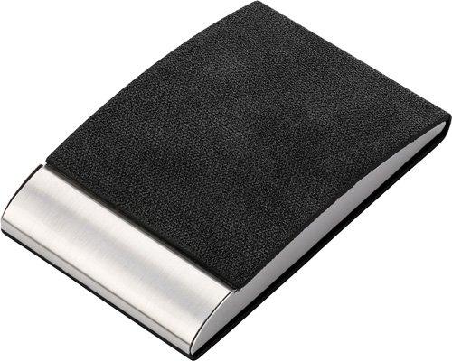 Visitenkartenhalter Business Aus Metall Schwarz Bedrucken
