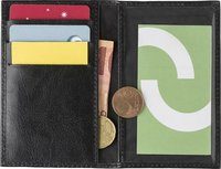 Kreditkartenbörse 'Toronto' aus Spaltleder