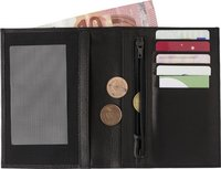 Geldbörse 'Smudo' aus Spaltleder