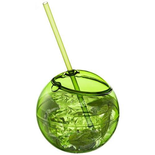 Fiesta 580 ml Trinkball und Strohhalm