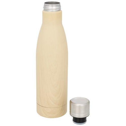 Vasa 500 ml Holz Kupfer-Vakuum Isolierflasche