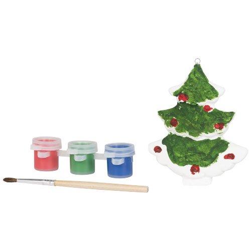 Malen Sie einen Weihnachtsbaum