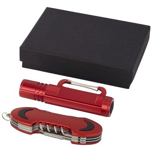 Ranger Taschenmesser und Taschenlampe - Geschenkset