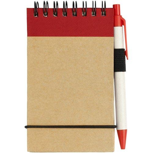 Zuse A7 Spiral Notizblock mit Stift