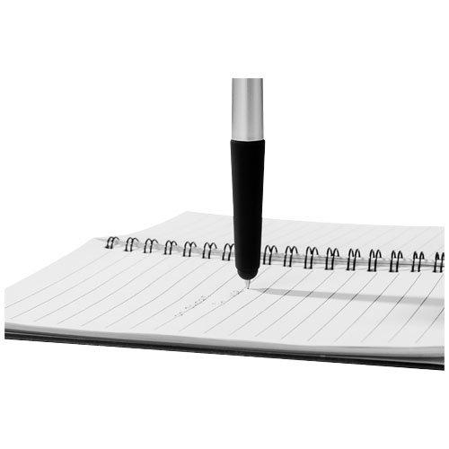 Gummy Stylus Kugelschreiber mit Soft-Touch Griff