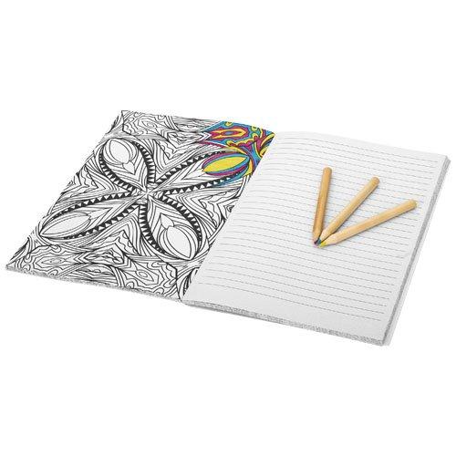 Doodle Farbtherapie A5 Notizbuch