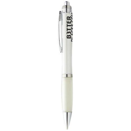 Nash Kugelschreiber mit farbigem Schaft und Griff