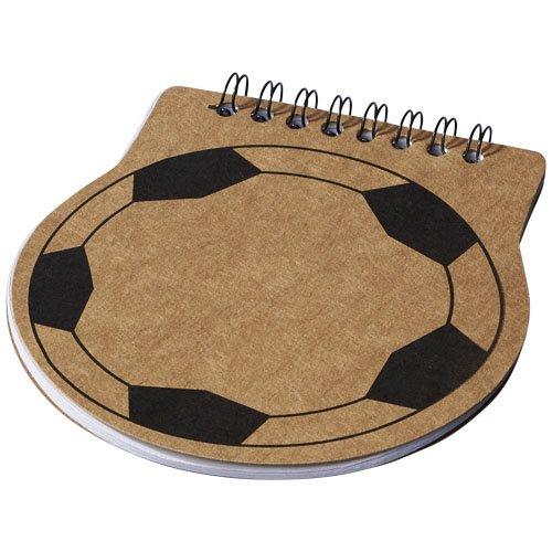 Score Fußball Spiral Notizblock