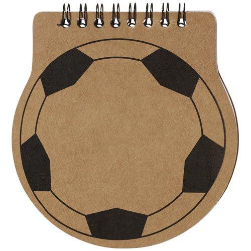 Ansicht 4 von Score Fußball Spiral Notizblock