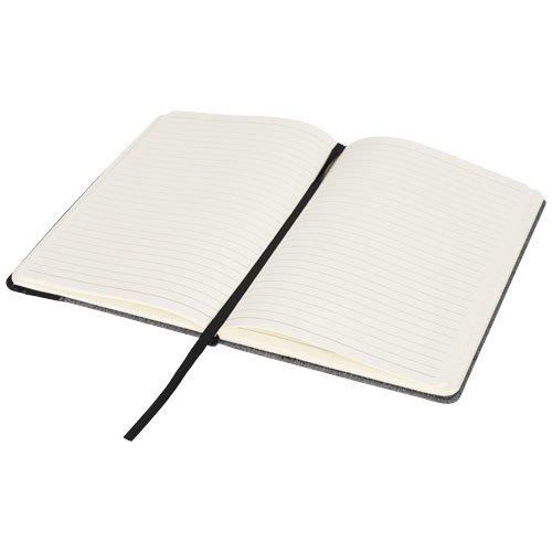 Meliertes A5 Notizbuch mit Lederoptik