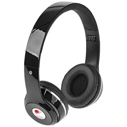 Ansicht 3 von Cadence faltbare Bluetooth® Kopfhörer mit Hülle