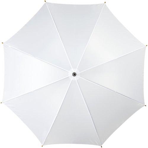 """Kyle 23"""" Automatikregenschirm mit Holzstange und -griff"""