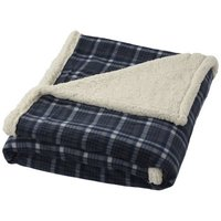 Joan Plaid-Decke aus Sherpa-Fleece
