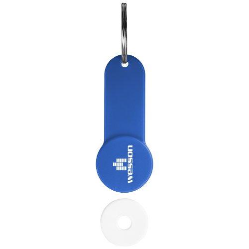 Shoppy Schlüsselanhänger mit Münzhalter