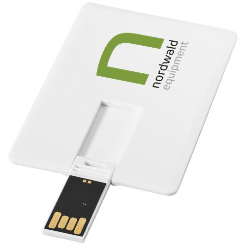 Slim 2 GB USB-Stick im Kreditkartenformat