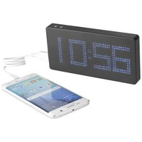 PB 8000 mAh LED Display Powerbank mit Uhr