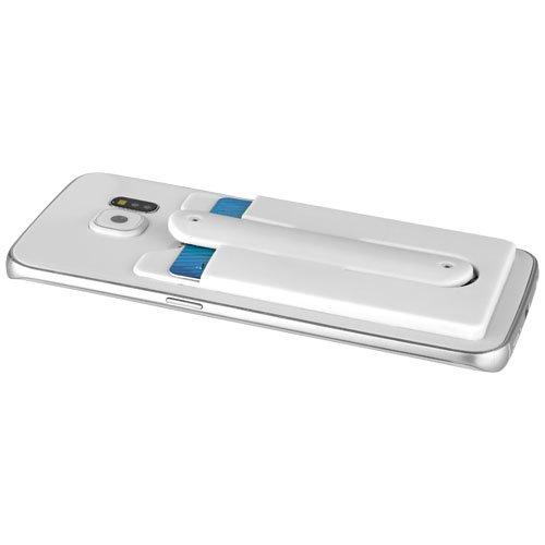 Silikon Kartenfach mit Telefonhalterung
