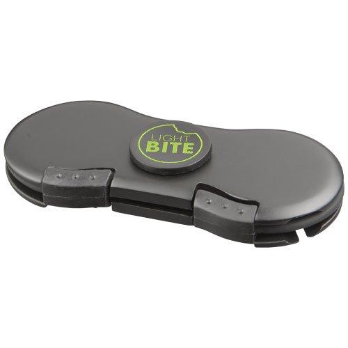 Spin-It Widget mit Ladekabel