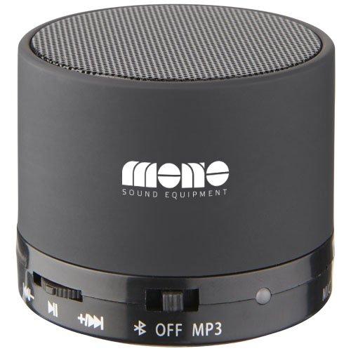 Duck Zylinder Bluetooth® Lautsprecher mit gummierter Oberfläche