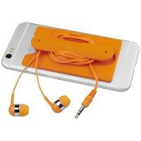 Wired Ohrhörer und Silikon Telefonhülle
