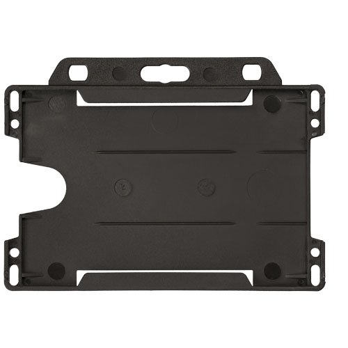 Vega Kartenhalter Aus Kunststoff Schwarz Bedrucken