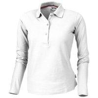 Point langärmliges Poloshirt für Damen