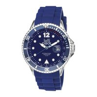 Armbanduhr LOLLICLOCK-CHROME DATE BLUE