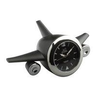 Uhr LOLLICLOCK-PLANE BLACK