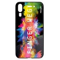 Smartphonecover REFLECTS-TG HWP20 FINGER BLACK
