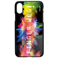 Smartphonecover REFLECTS-TG IPX FINGER BLACK