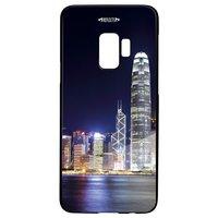 Smartphonecover REFLECTS-TG SG9 SKYLINE BLACK