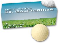 Schoko Golfballset 3er