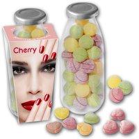 Bonbons in Milchglas