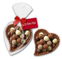 Gefülltes Schokoladenherz groß