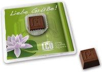 Schokolade geprägt in Blisterpackung