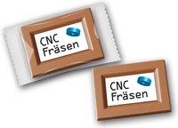 Schokoladentäfelchen mit Logo