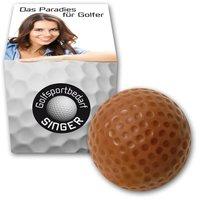 Schokoladen Golfball