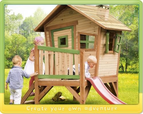 wickey spielhaus robin axi kinderhaus stelzenhaus holz. Black Bedroom Furniture Sets. Home Design Ideas