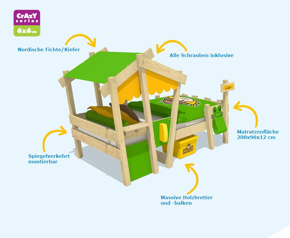 Etagenbett Wickey Jungle Hut Duo : Wickey kinderbett erfahrungen: erfahrungen