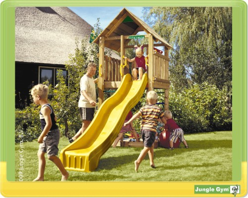 jungle gym cabin baupaket spielturm selbstbau kit ebay. Black Bedroom Furniture Sets. Home Design Ideas