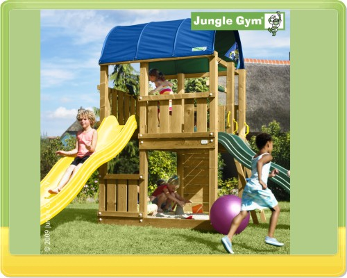 jungle gym farm baupaket spielturm kletterturm kit. Black Bedroom Furniture Sets. Home Design Ideas